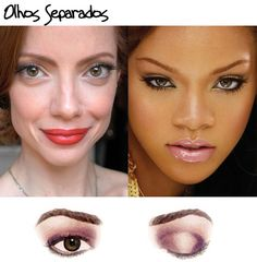 """Na hora de maquiar os olhos sempre lançamos mãos de algumas instruções genéricas, como """"defina ocôncavo"""",""""ilumine a áreaabaixo dasobrancelha"""", """"faça u"""