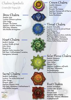 chakra chart - loved and pinned by www.omved.com