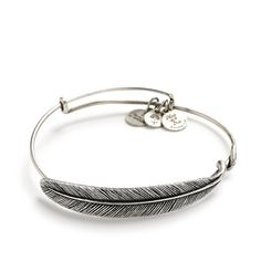 Quill feather wrap bracelet by Alex and Ani #wedding #jewelry