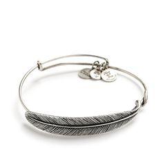 Wedding Accessory Ideas: Quill feather wrap bracelet by Alex and Ani #wedding #jewelry