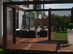 Porches, Interior Garden, Exterior Design, Cover Design, Outdoor Spaces, Furniture, Terraces, Home Decor, House Ideas
