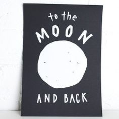 Art Print - Moon and Back | Collected by LeeAnn Yare