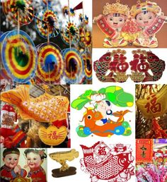 Bright colors, red and gold, symbols of good fortune, properity, surplus, and longevity are seen in Chinese New Year decorations in all buildings and homes. http://www.visiontimes.com/2016/02/05/get-ready-for-chinese-new-year-with-these-pre-festival-preparations.html