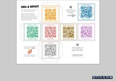 """""""QR Code Cube"""". Check it out... from eduClipp"""