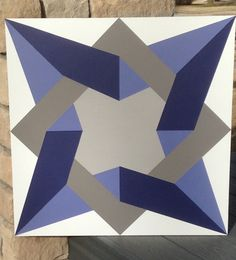 Twisted Star Barn Quilt