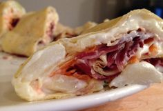 Julewraps med spekemat Tacos, Mexican, Meat, Chicken, Ethnic Recipes, Food, Beef, Meal, Essen