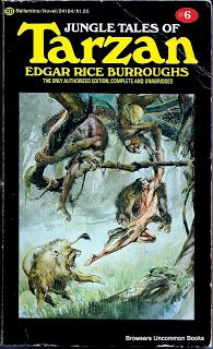 Jungle Tales of Tarzan by Edgar Rice Burroughs. Paperback. Cover art by Neal Adams. Creases, edge wear. This copy sold