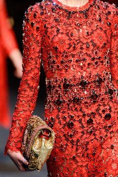 Details Dolce & Gabbana Fall 2013 Ready to Wear