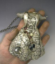 precious metal clay jewelry - by Hadar