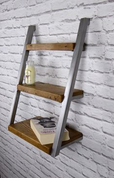 Modern Industrial Shelving Unit / Shelves, Industrial Chic (Small) by escafell on Etsy https://www.etsy.com/uk/listing/471234725/modern-industrial-shelving-unit-shelves