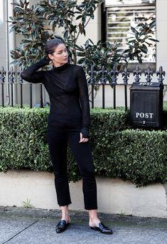 Minimal Mastered. @harperandharley styles the Selena Crop Boot to perfection.