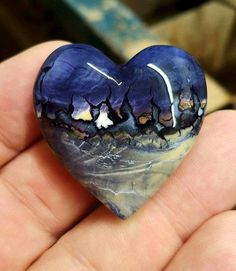 Stunning Tiffany Stone Heart!  By: Russ Kaniuth  Visit Amazing Geologist for more..