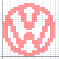 VW logo diagram