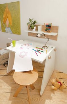 Complete Your Children's Room with Childrens Desk: Childrens Desk Convertible ~  Furniture Inspiration