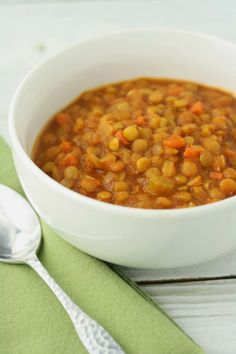 No Gluten, No Problem: Lentil-Tomato Stew. ☀CQ #glutenfree