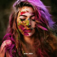 Understanding is an art and not everyone is artist Festival Photography, Girl Photography Poses, Creative Photography, Modeling Photography, Holi Pictures, Holi Images, Holi Festival Of Colours, Holi Colors, Happy Holi Photo