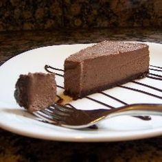 Vegan Chocolate No Bake Cheesecake