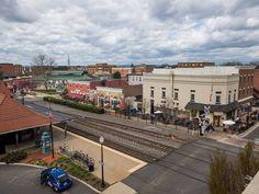 Smalltown USA. It's still out there. #virginia #manassas #street