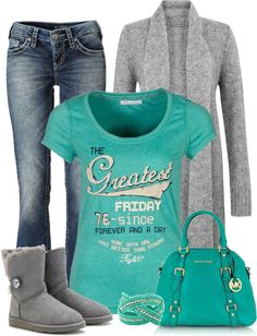 """Running out to grab a gift we forgot"" by cindycook10 on Polyvore"