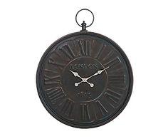 Reloj de pared de metal - 69x62 cm