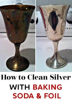 Think you need some heavy silver cleaner to shine your silver? Think again! Use this incredibly simple method to learn how to clean silver with baking soda and aluminum foil! And yes! It works! #cleaning #cleaninghacks #cleaningtips #lifehacks #hacks #greenliving #greenhome #silver