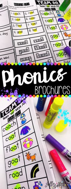 These interactive phonics brochures are perfect for the first and second grade reading teacher wanting to add a little fun and excitement to daily fluency, phonics, word work, and spelling instruction. Each brochure is filled with interactive activities and SO MUCH better than worksheets! Students get to practice targeted phonics skills in the context of reading for comprehension.