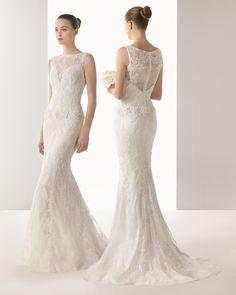 Itaca vestido de novia soft Rosa Clara