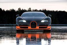 Bugatti veyron super sport (front)
