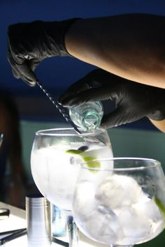 Brockmans Gin and Tonics. Brockmans Gin, Premium Gin, Best Gin, Gin And Tonic, Chin Chin, Drinks, Tableware, Drinking, Beverages