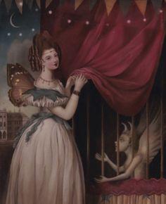 The Midnight Carnival. by Stephen Mackey Gothic Drawings, Art Drawings, Dark Fantasy, Fantasy Art, Esoteric Art, Scary Art, Goth Art, Arte Horror, Lowbrow Art
