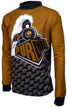 NCAA Purdue Boilermakers Mountain Bike Cycling Jersey Team XLarge ** More info could be found at the image url. Mountain Bike Jerseys, Mountain Biking, Cycling Bikes, Sweatshirts, Sports, Mens Tops, How To Wear, Cyber Monday, Black Friday