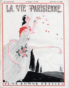 Georges Léonnec (1881 – 1940). La Vie Parisienne, 30 Juin 1923. [Pinned 27-iii-2015]