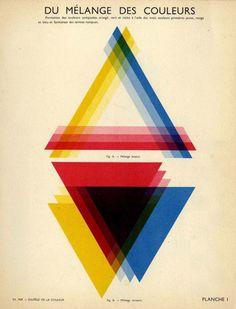 freakyfauna:From Solfege de la Couleur by Eduard Fer (1953). Found at fulltable.