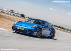 Porsche 911 GT3 2018 poster, #poster, #mousepad, #tshirt, #printcarposter Car Posters, Poster Poster, Gt3 Rs, Porsche 911 Gt3, First Drive, Manual Transmission, Cool Cars, Vehicles