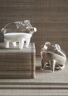 roost Pig Salt and Pepper Shakers #hostess #giftguide