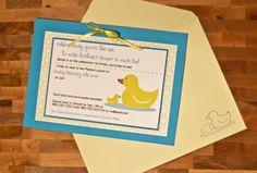 Rubber Ducky Baby Shower » Newbie Mom