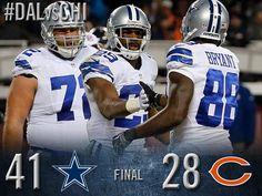 SHARE THE WIN! The Cowboys are now 9-4. #DallasCowboys #DALvsCHI