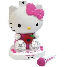 Hello Kitty Karaoke System With Built-in Video Camera (pack of 1 Ea)