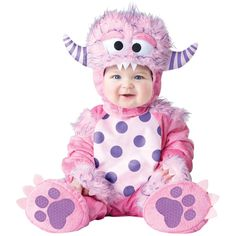 Lil Pink Monster 18-2t