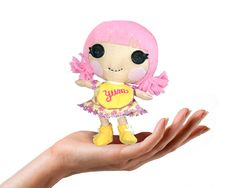 DIY Lalaloopsy Little  - Rag Doll Pattern  https://www.quirkyartistloft.blogspot.com