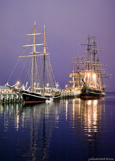 Greenport Long Island N.Y. Tall Ships! Tall Ships were always a part of July 4th celebrations!
