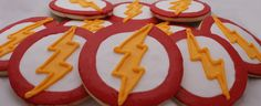 This is exactly what I want to do for cookies. Well, Miguel wants Flash cookies. What Miguel wants, Miguel gets... especially since they're comic book related. From littlelulusconfections.com