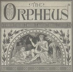 Orpheus soothed the savage beast with beautiful song.