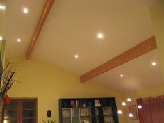 Eclairage salon plafond cathedrale recherche google salon pinterest g - Plafond cathedrale decoration ...