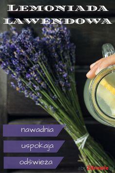 Lawenda sprawdza się jako smaczna lemoniada - nawadnia, oczyszcza, uspokaja i łagodzi ból. Zobaczcie, jak ją przygotować!  #lawenda #lemoniada #lawndowa #napoje #przepisy #uspokojenie #relaks #oczyszczanie #zdrowie #lavender #lemonade #tasty #drink #recepis #relax #healthy #herbst #abcZdrowie Smoothies, Relax, Herbs, Food, Meal, Eten, Smoothie, Herb, Meals
