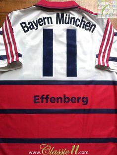 1991 92 bayern munich home shirt l seasons home and. Black Bedroom Furniture Sets. Home Design Ideas
