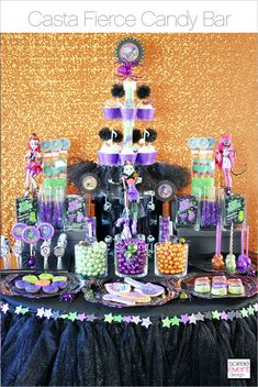 | Monster High Party: Casta Fierce Premiere GIVEAWAY | http://soiree-eventdesign.com