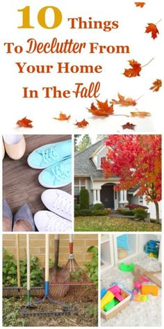 When fall arrives this change of season feels like a new beginning. Get your home ready for the cooler season and holidays ahead, while also recovering from the summer season, by decluttering these 10 things from your home this autumn. #ad