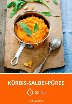 Kürbis-Rezept: Kürbis-Salbei-Pürree | eatsmarter.de