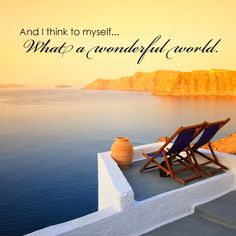 And I think to myself, what a wonderful world.  #dreamtrips #ysbh www.dreamtrips.com